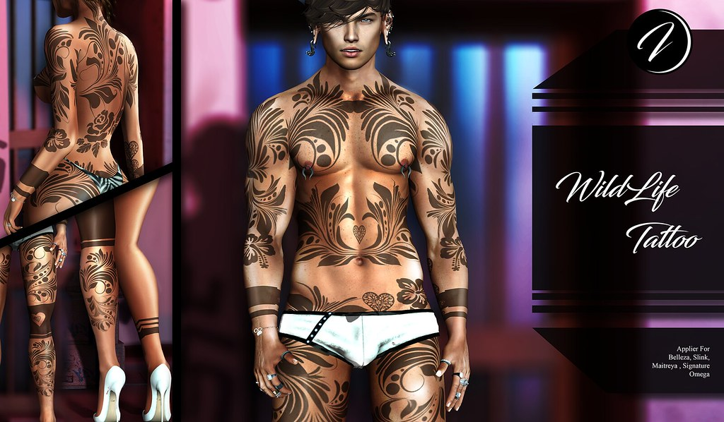 ..:: INKer ::.. Wildlife Tattoo - TeleportHub.com Live!