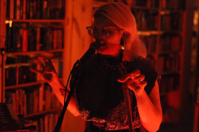 Mary Ocher at Black Squirrel Books