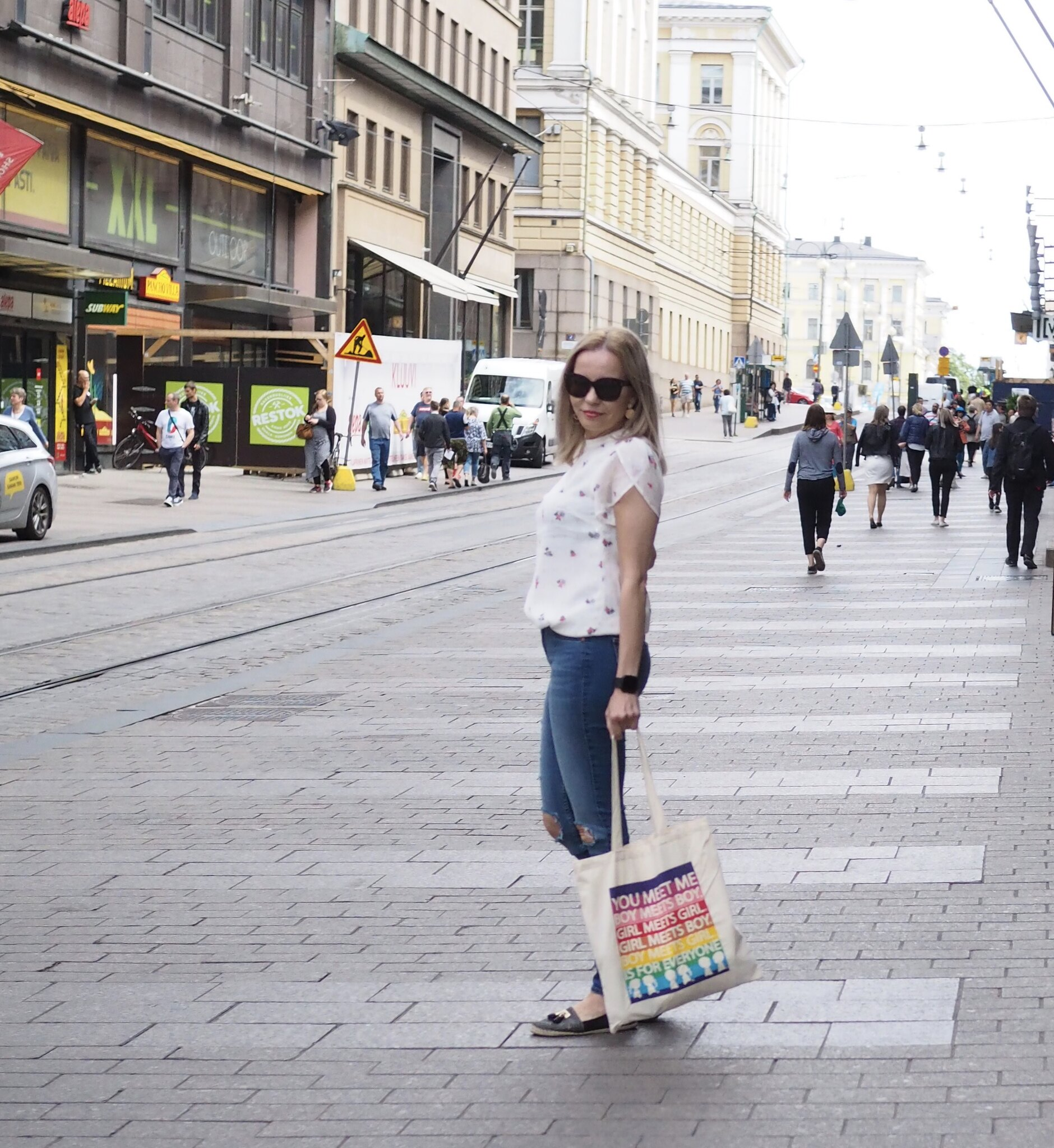 Helsinki Street Style by Business Woman