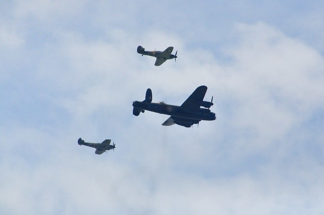 RAF battle of Britain flypast