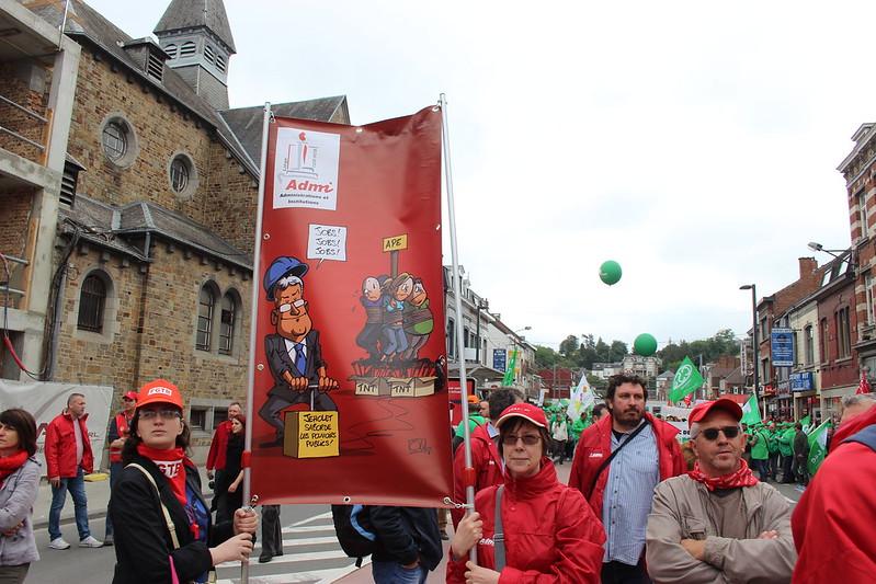 25 juin 2018 - Manifestation - APE (Namur)