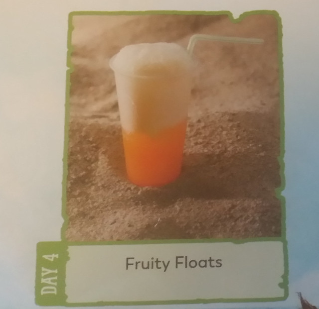 Day 4 Fruity Floats