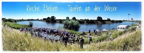 Kirche Etelsen Taufen an der Weser