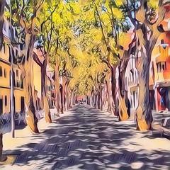 Una visió estiuenca de les rambles de #santboi de Llobregat