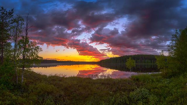 Tutulampi sunset