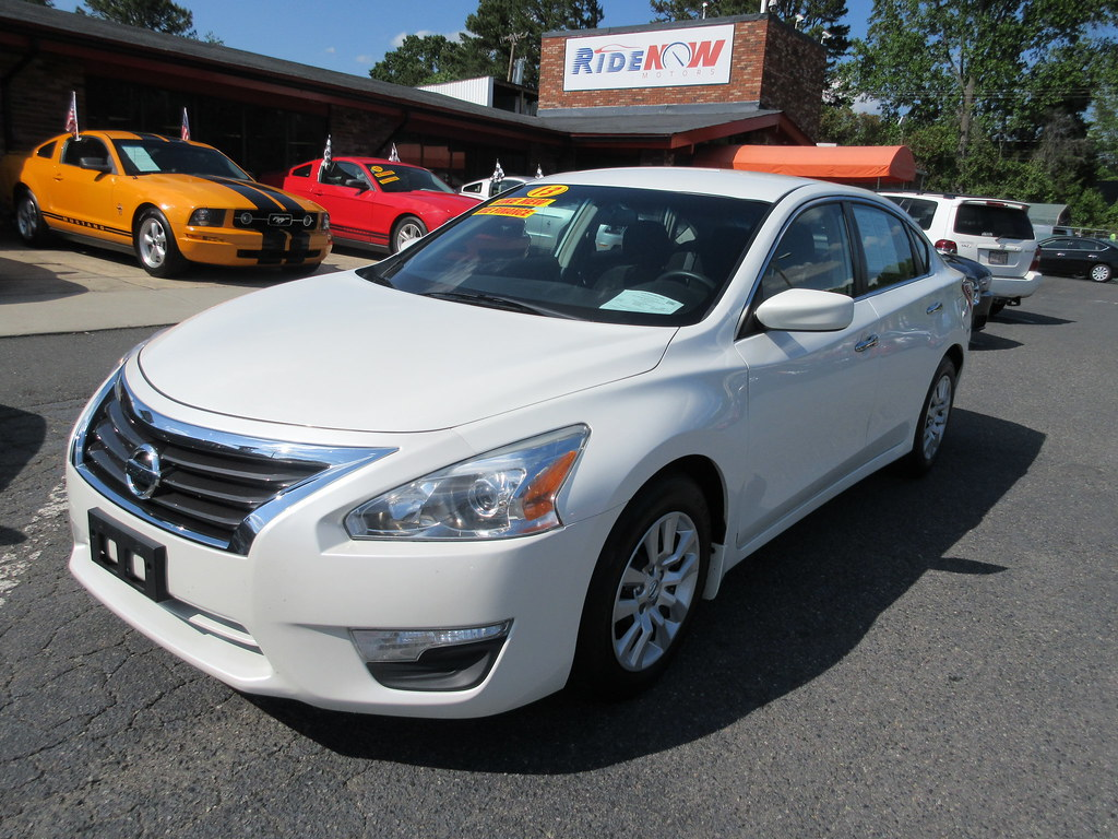 Ride Now Motors >> 2013 Nissan Altima 2 5 S Ride Now Motors Ask For Sara Char