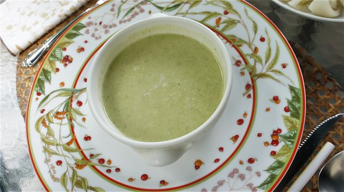 Chilled Zucchini Soup