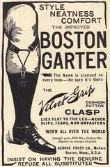 The Boston Garter