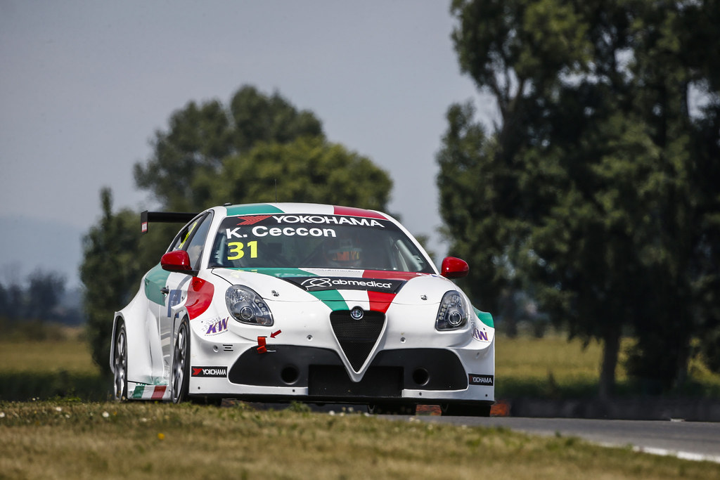 31 CECCON Kevin (ITA), Alfa Romeo Giulietta TCR, Mulsanne Srl, action during the 2018 FIA WTCR World Touring Car cup race of Slovakia at Slovakia Ring, from july 13 to 15 - Photo François Flamand / DPPI.