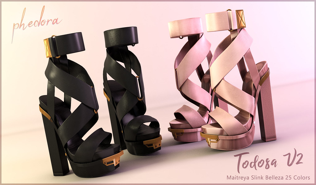 "Phedora. for Kustom9 - ""Todosa V2"" heels ♥ - TeleportHub.com Live!"