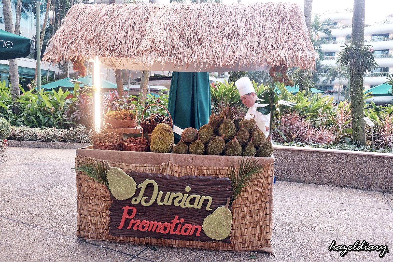 The Line Shangri-La Hotel-Durian buffet-Outdoor Kiosk-1