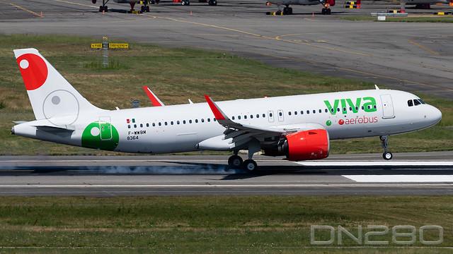 Vivaaerobus A320-251N msn 8364