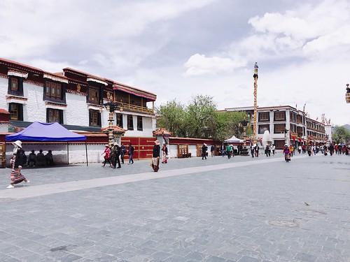 西藏的街景