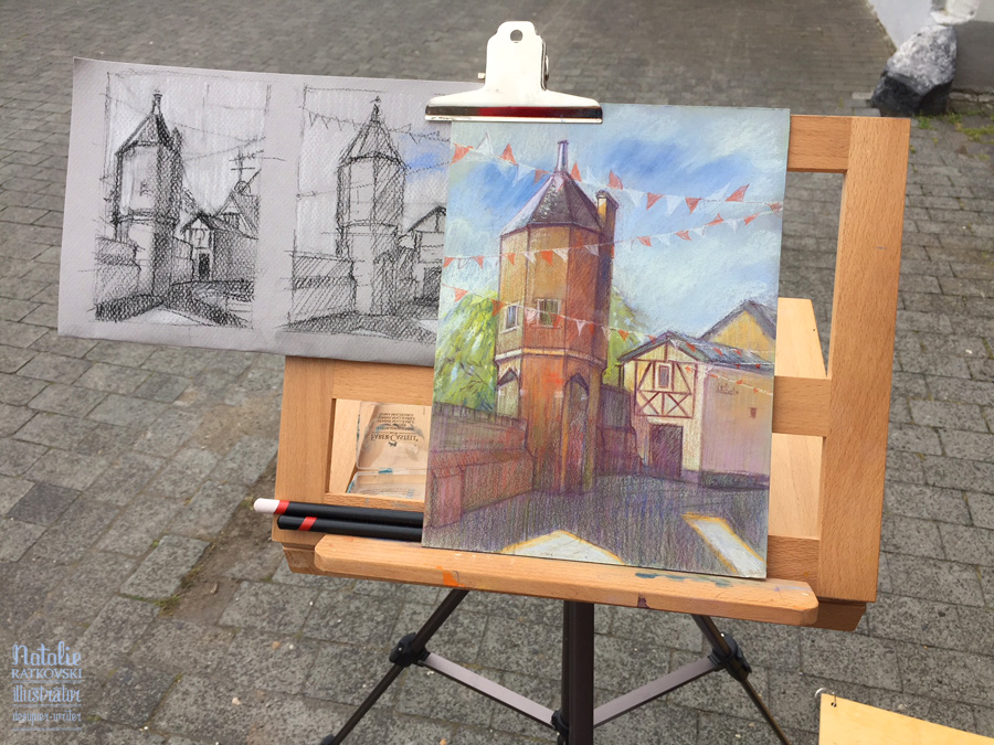 Plein air in Zons