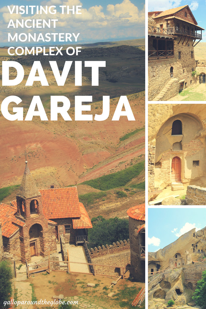 VISITING THE ANCIENT MONASTERY COMPLEX OF DAVIT GAREJA, GEORGIA - GALLOP AROUND THE GLOBE