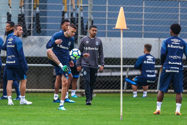 Treino Grêmio 02/07/18