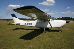 G-ATCX Cessna 182H [182-55848] Popham 080718