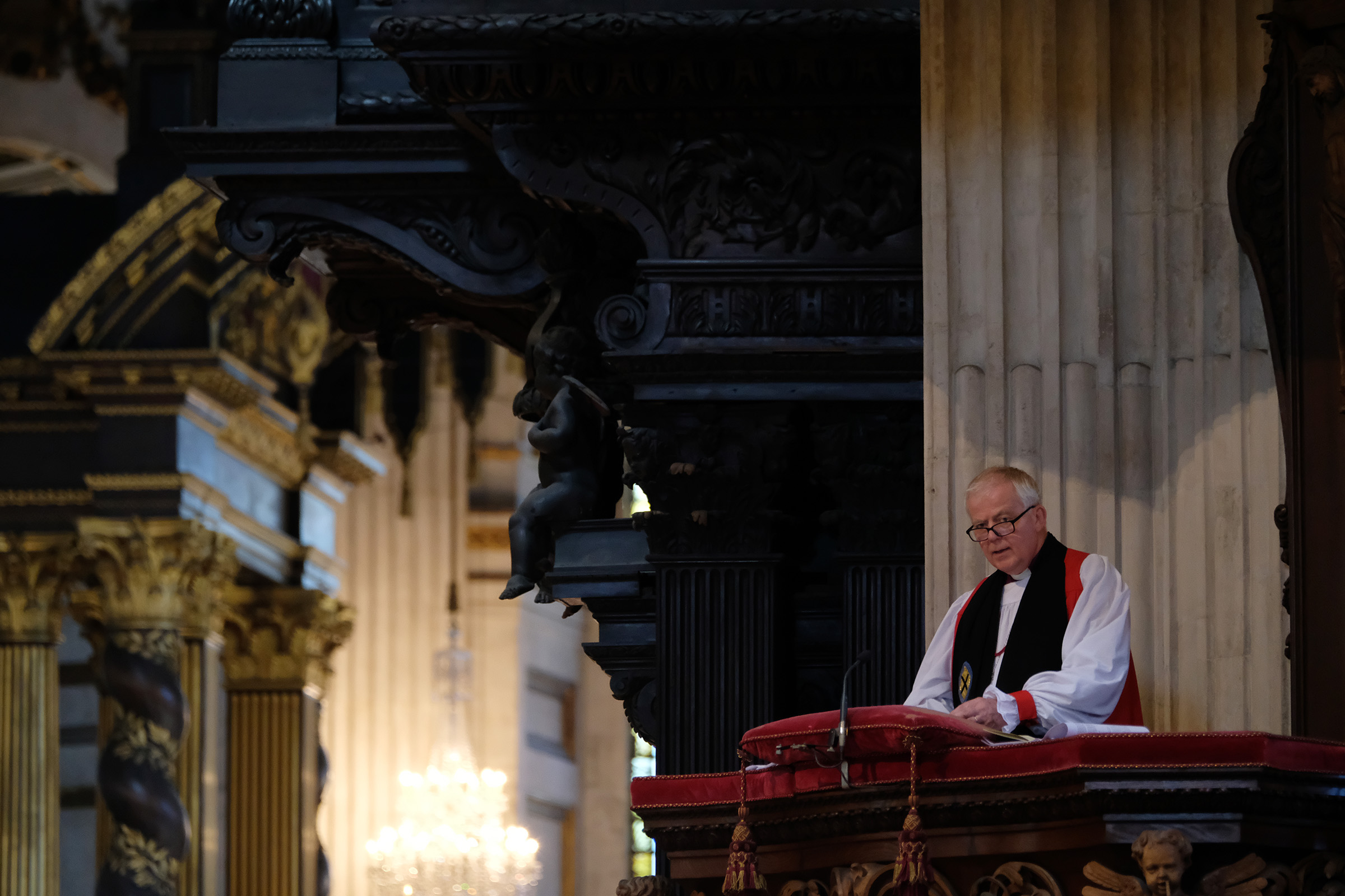 Right Rev Nicholas Holtam, Bishop of Salisbury