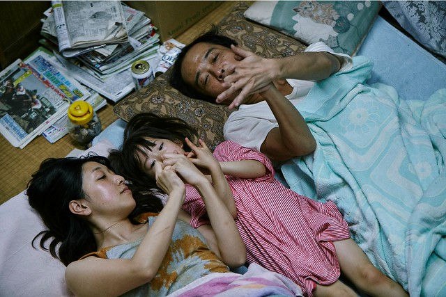 Shoplifters Japanese Movie Still