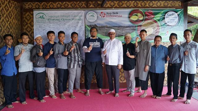 Dukungan Persaudaraan Alumni 212 ke Kampung Quran MataQu