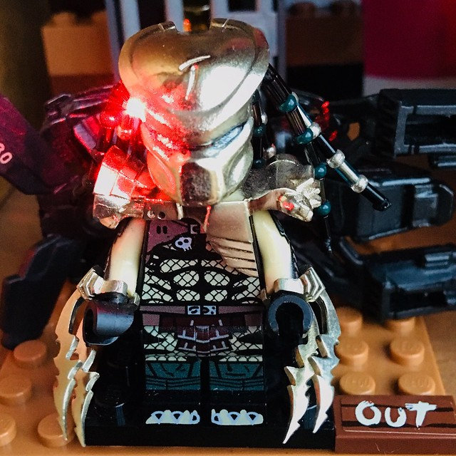 Scar Predator Lego Custom