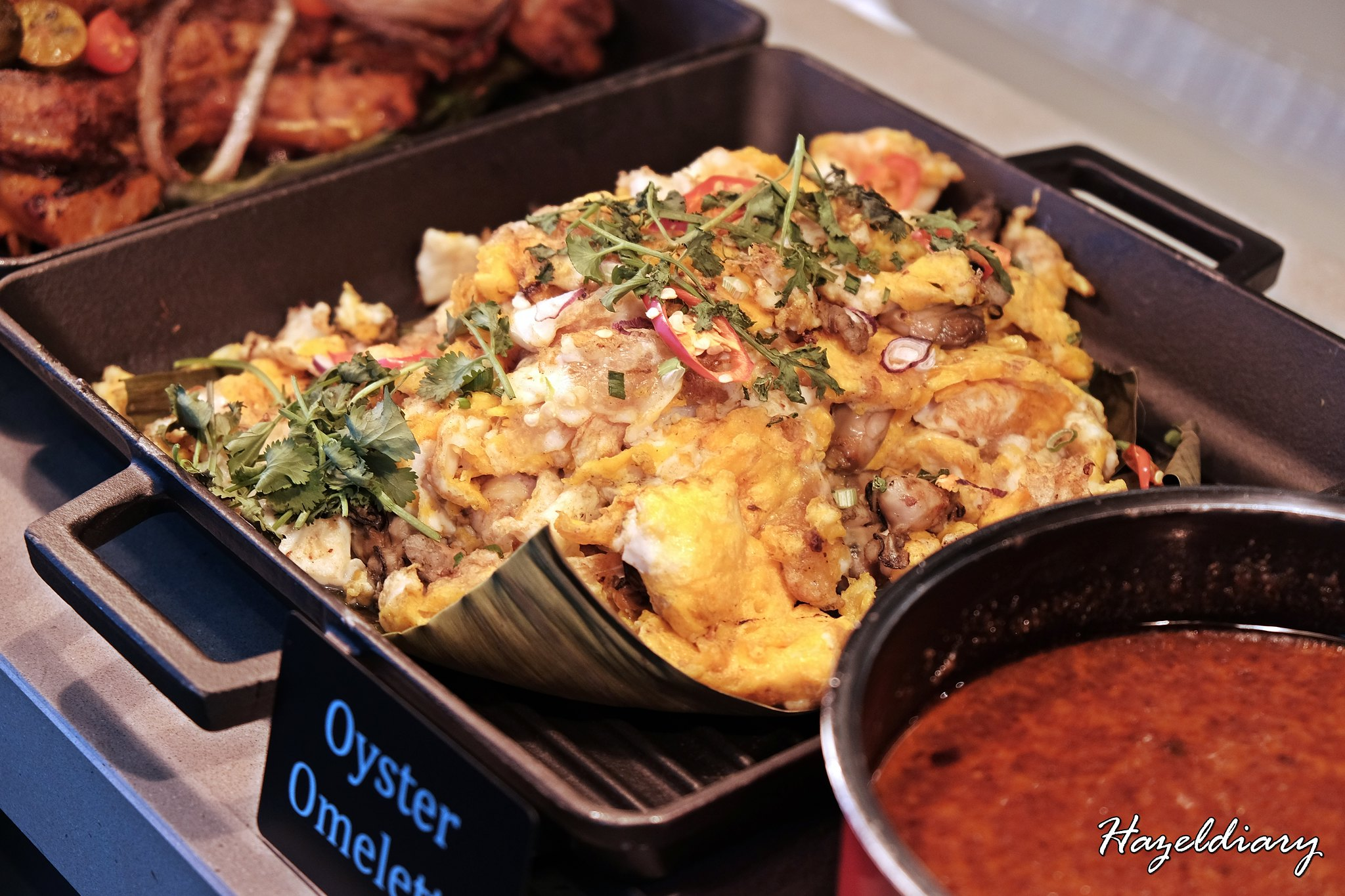 Penang Food Fare Buffet-Sky22 Courtyard Marriott-Oyster Omelette-1