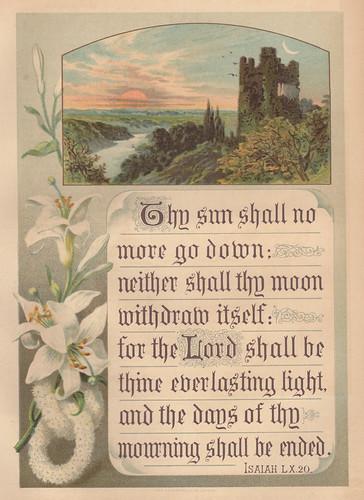 1888 Isaiah 60:20