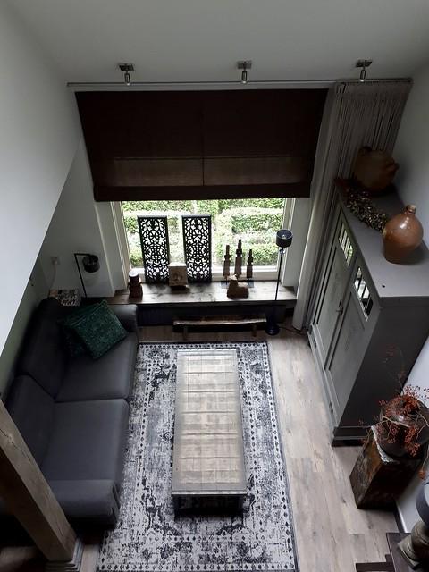Vide woonkamer landelijke stijl