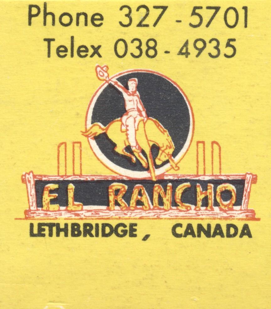 El Rancho Motel - Lethbridge, Alberta