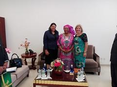 Visita Oficial de la vicepresidenta del Consejo de Estado de la República de Cuba, Mercedes López Acea, a Guinea Ecuatorial.