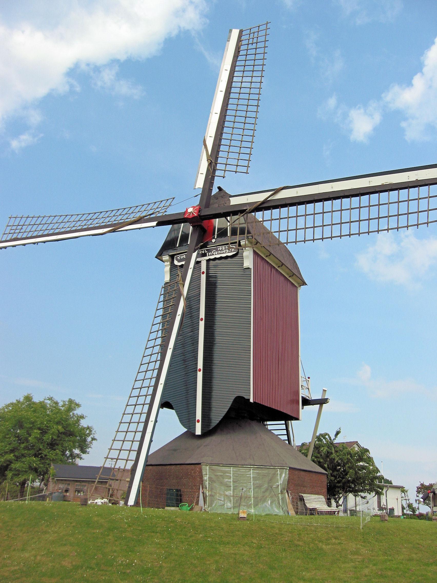 Tot Voordeel en Genoegen (1798) in Alphen, Gelderland, in the Netherlands. Photo taken on June 2, 2008.