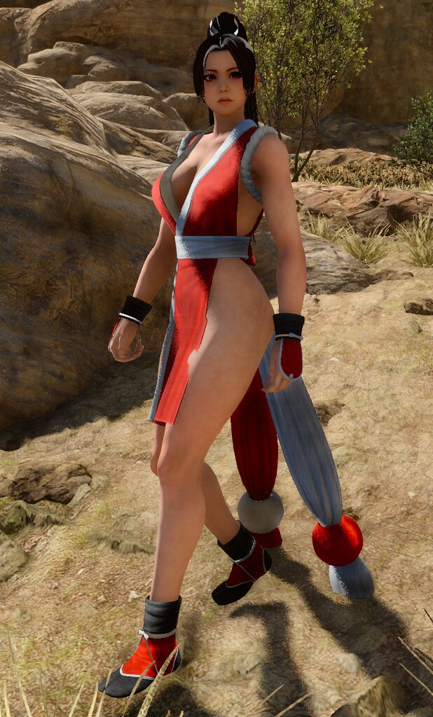 Final Fantasy XV - Mai Shiranui Posing