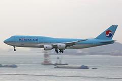 Boeing 747-8B5 HL7638 Korean Air VHHH Hong Kong