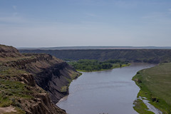 Montana River Valley at Fort Benton