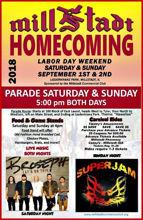 Millstadt Homecoming 9-1-18