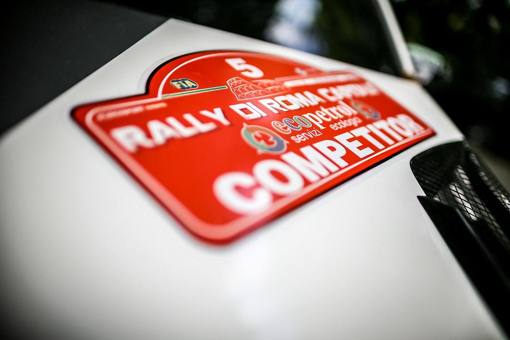 05 Fabian Kreim G(ER), Frank Christian (GER), Skoda Auto Deutschland, SKODA FABIA R5, illustration during the 2018 European Rally Championship ERC Rally di Roma Capitale,  from july 20 to 22 , at Fiuggi, Italia - Photo Thomas Fenetre / DPPI