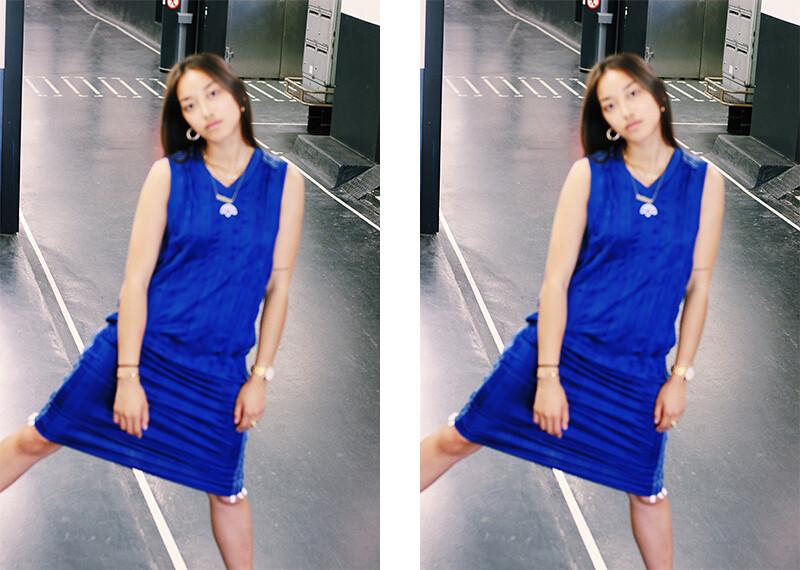 téva sartori robe bleu adidas alexander wang 2