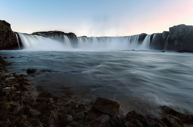 Waterfall of the Gods (Goðafoss)