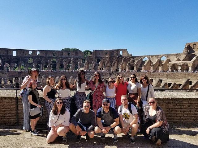 NU Students in Rome | May 2018
