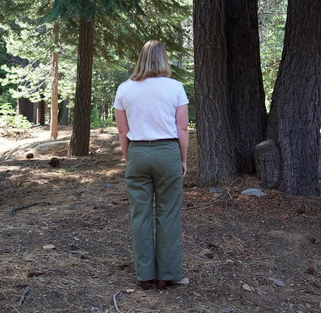 Lander pants back