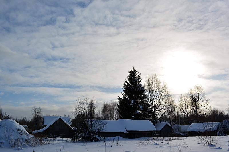 изменится твоя деревня витка киришского района фото деревни зимой этого