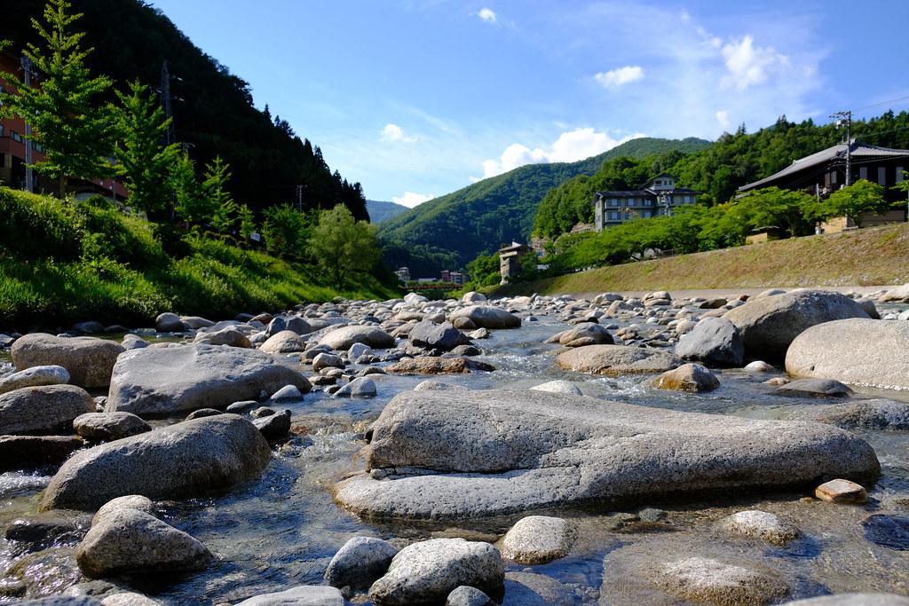 阿智川 上流