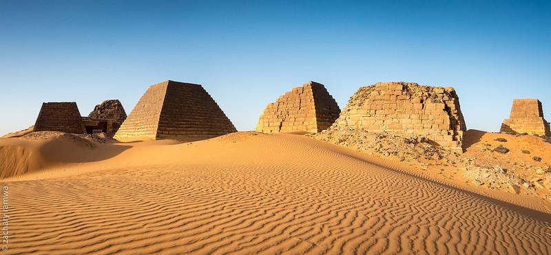 Northern cemetery, Pyramids of Meroë