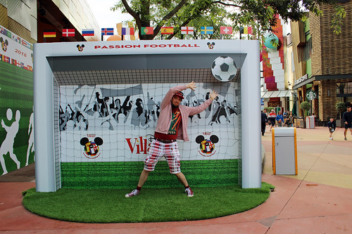 Disney Village soccer fun