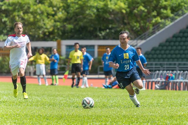 立法會足球友誼賽 LegCo friendly football match (2018.06.16)
