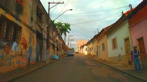 Ruas de tatui sp brazil
