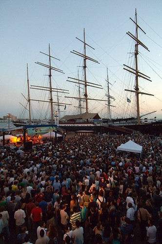 Seaport Music Festival. From Six Things To Do At The South Street Seaport After Dark