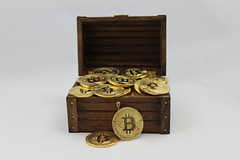 Cryptocurrency Bitcoin stock pic treasure Chest