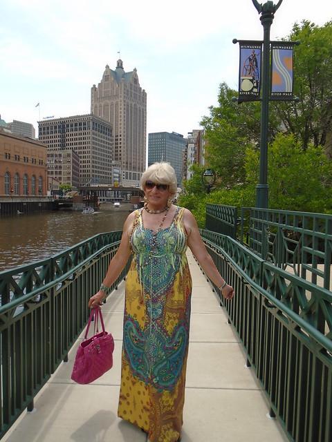Strolling Along The Milwaukee Riverwalk