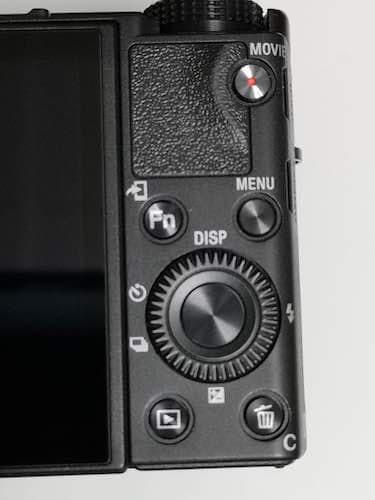 RX100M6のボタン類
